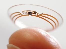 Contact smart lens Google, Close-up Engineering