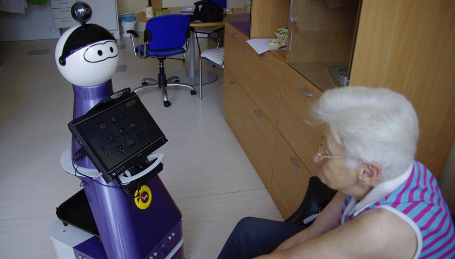 Kompai R&D Robot by Robosoft