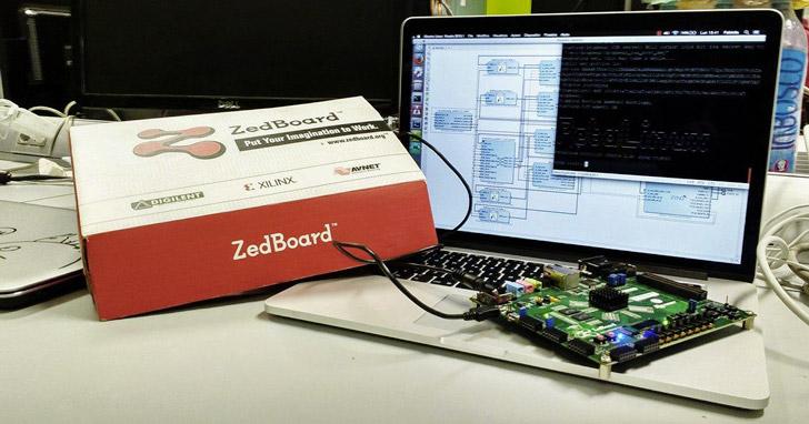 Zedboard&Vivado, design prISMA