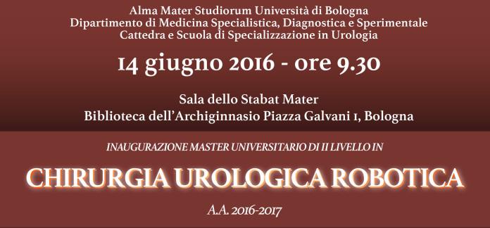 Master in chirurgia robotica Unibo