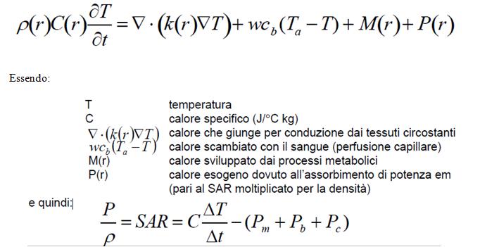 Equazione del bio-calore
