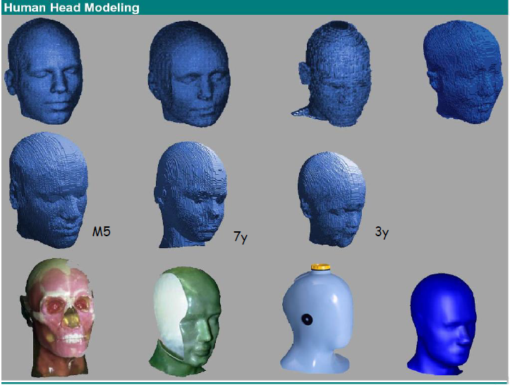Modelli teste prove SAR