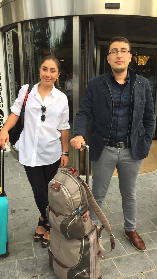 Giulia e Lorenzo arrived at Dublin