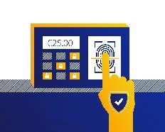 Rilevamento delle impronte digitali per il pagamento
