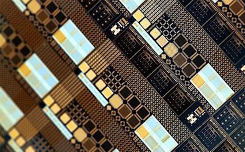 Memristor chip