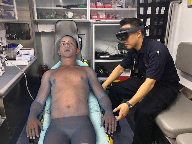 Persim sfrutta HoloLens per l'addestramento al primo soccorso
