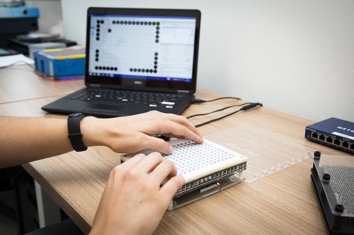 Blindpad, il tablet per non vedenti