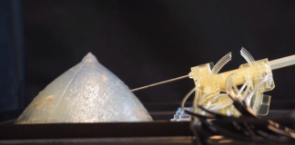 Stormram 4 robot per biopsia stampato 3D
