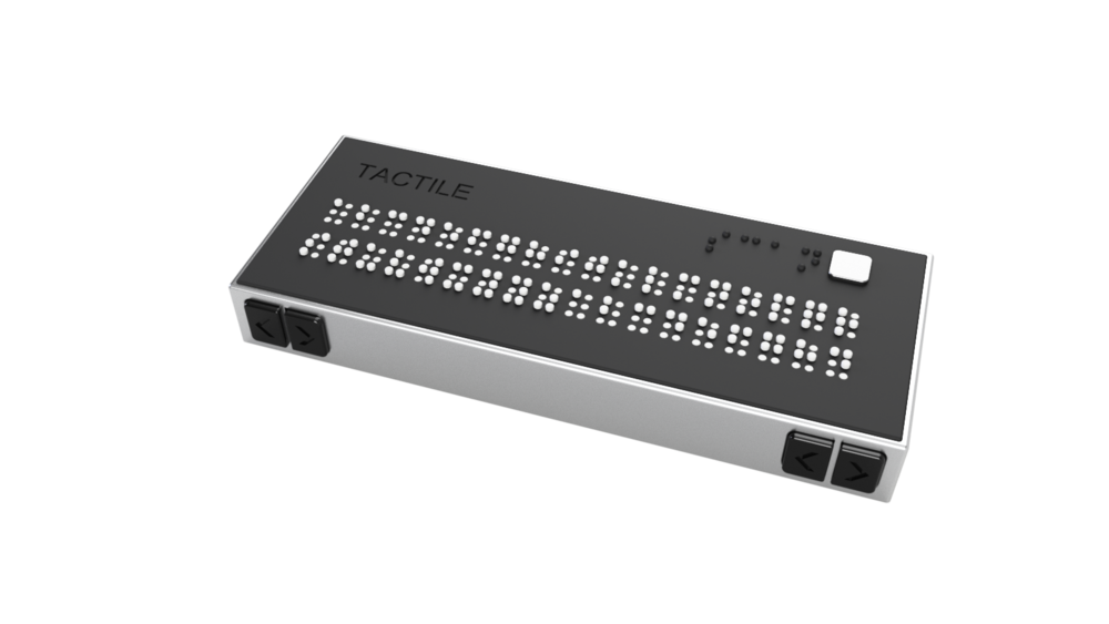 Tactile il traduttore braille real time