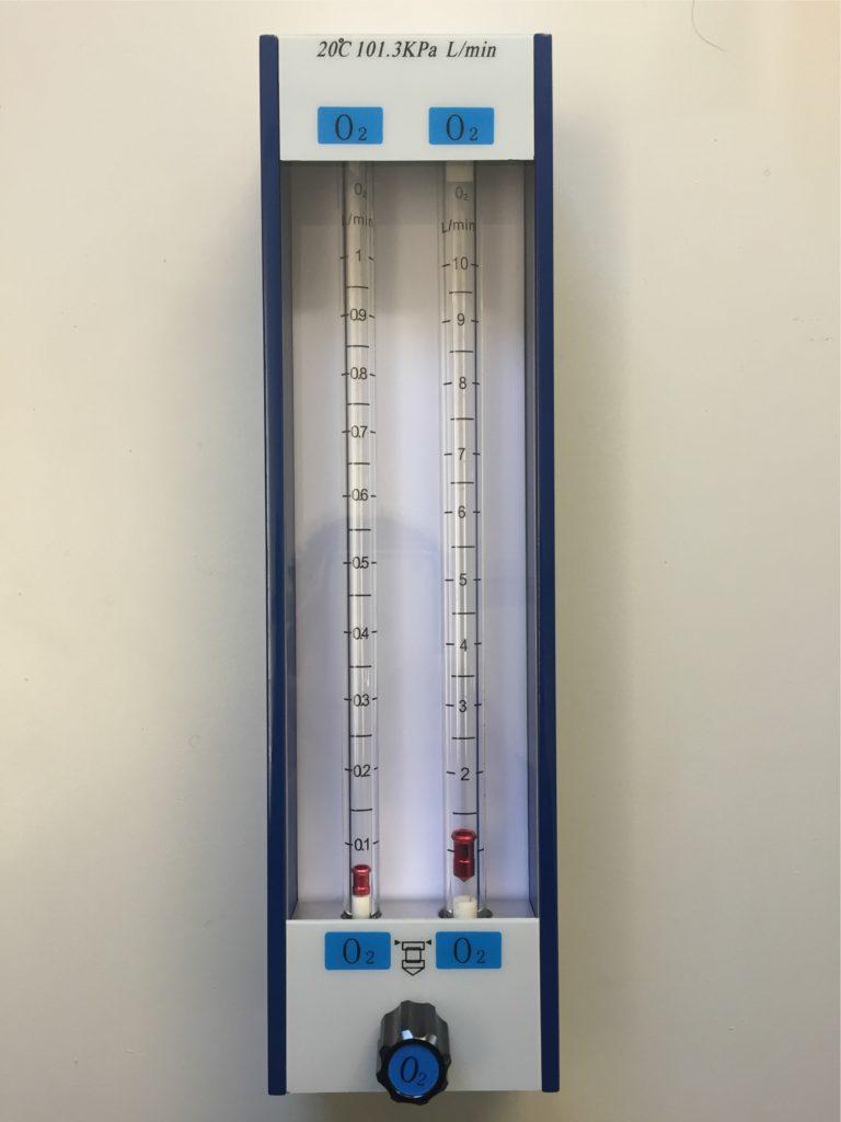 Flussimetro macchina anestesia